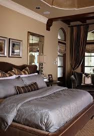 braune schlafzimmerwand wandfarbe braun wand streichen ideen wohnideen