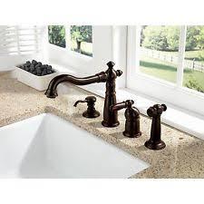 delta rubbed bronze kitchen faucet delta bronze faucet ebay