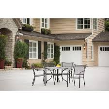Patio Furniture From Home Depot - hampton bay andrews slat patio dining table fts60734 br the home