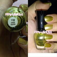 pinkylici0us review kleancolor green addicts nail lacquer mini