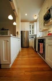kitchen good looking small white open kitchen galley decoration