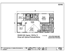 Peninsula Kitchen Floor Plan by Blue Ridge Max Cascade Max B25482 Find A Home R Anell Homes