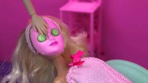 barbie hair u0026 nail salon color change spa fab toy disney tangled