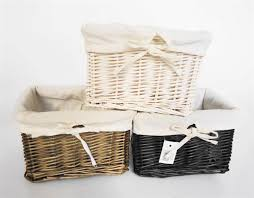 Wicker Laundry Basket With Lid Ikea Furniture Wicker Storage Basket Ideas To Make Your Room More