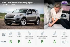 land rover kid 2015 land rover discovery sport car seat check news cars com