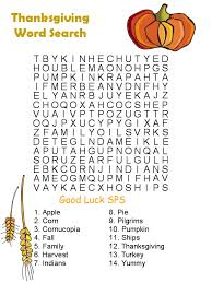 easy printable thanksgiving word searches happy thanksgiving