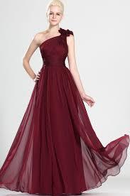 chiffon dress a line princess floor length one shoulder chiffon dress