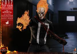 ghost rider mask costume marvel u0027s agents of s h i e l d 1 6th scale ghost rider
