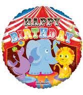 circus balloon bargain balloons clown 2fcircus mylar balloons and foil balloons
