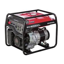 honda 5000 watt gasoline generator with gx390 ohv commercial
