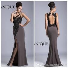 designer evening dresses with slit evening dresses dressesss