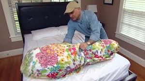 Duvet And Comforter Tip For Putting A Duvet Cover On A Comforter Today U0027s Homeowner