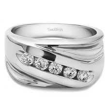 mens silver wedding rings sterling silver men s wedding bands groom wedding rings shop