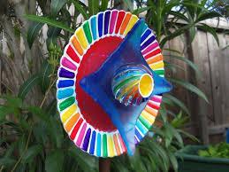Glass Garden Decor 88 Best Glass Sculpture Garden Art Images On Pinterest Garden