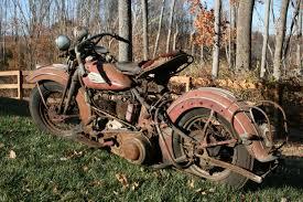Harley Big Barn 1940 Knucklehead