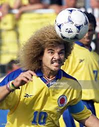 colombian midfielder carlos valderrama h pictures getty images