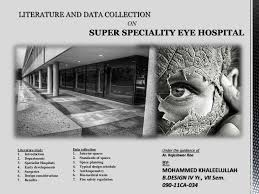 eye hospital literature