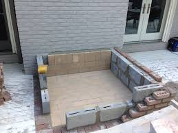 home design cinder block gas fire pit landscape architects