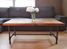 furniture extraordinary wood metal coffee table design ideas