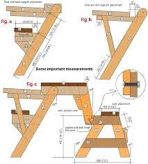 folding picnic table bench plans pdf folding picnic table and bench seat combination folding picnic table