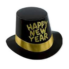new year supplies new year hats alacarte party supplies black gold new year hihat each