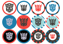 printable transformers birthday banner transformers birthday party printables by anna lee design