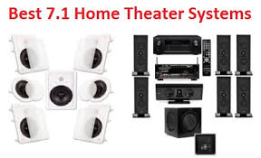 Home Theater Best Rated Home Theater Systems Home Theater Systems - top 15 best 7 1 home theater systems in 2018 complete guide