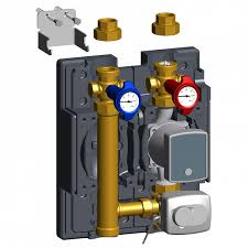 pump mixing valve unit flowbox hkm8180 for radiant heating