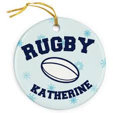 rugby ornaments chalktalksports