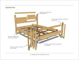How To Make A Platform Bed Queen Size by Free Woodworking Plan Making A Queen Size Bed Step By Step Jeff