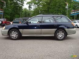 dark blue subaru 2000 dark blue pearl subaru outback wagon 12861141 photo 6
