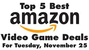 amazon black friday deals on xbox one video games top 5 best black friday video games deals on amazon today