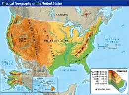 physical map of the united states lesson 1 2 physical maps april smith s technology class
