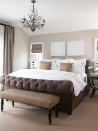 Bedroom Makeover Ideas - appealing master bedroom makeover ideas with unique chandelier and