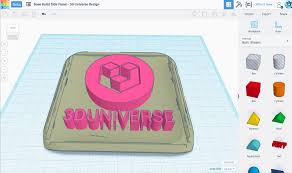 education 3d universe