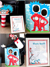 cat in the hat inspired 3rd birthday party food game diy party