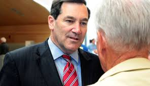 donnelly at trump tax reform dinner likely helps re election bid