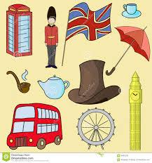 united kingdom of great britain symbols stock vector image 60855226