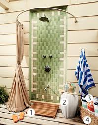 Outdoor Shower Curtains Must Outdoor Shower Coastal Living