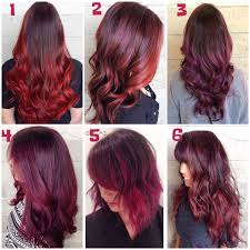 Colorful Hair Dye Ideas Wine Red And Blonde Hair Colors Ideas