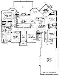 large 1 story house plans floor plans aflfpw07052 1 story new american home with 4