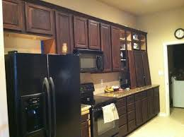 how to stain and finish kitchen cabinets general finishes java gel stain kitchen cabinets stained