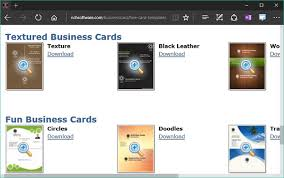 Nch Home Design Software Review Create Own Business Card Using Nch Cardworks Tool