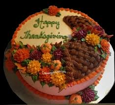 thanksgiving cake by psurrette on cakecentral icing