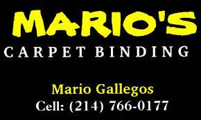 Dallas Carpet Repair Mario U0027s Carpet Binding Carpet Cleaning 17811 Davenport Rd