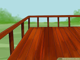 how to refinish a deck 15 steps with pictures wikihow