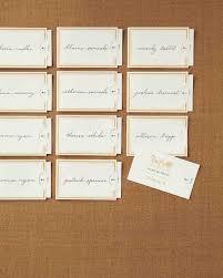 diy seating cards and displays martha stewart weddings
