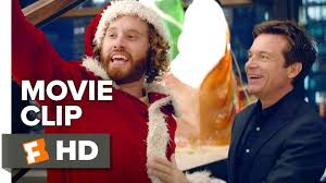 office christmas party movie clip stair sledding 2016 t j