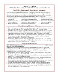 Best Resume Format For Logistics by Construction Operation Manager Resume Baileybread Us