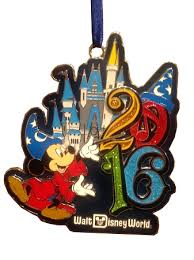 ornament 2016 walt disney world metal